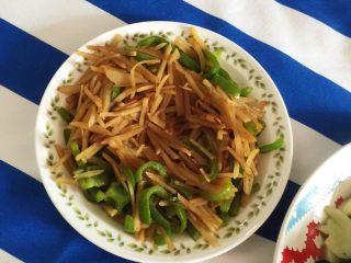 土豆丝炒青椒