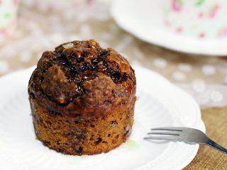 红枣低脂蛋糕,这是淋了些许蜂蜜,感觉也棒棒哒。