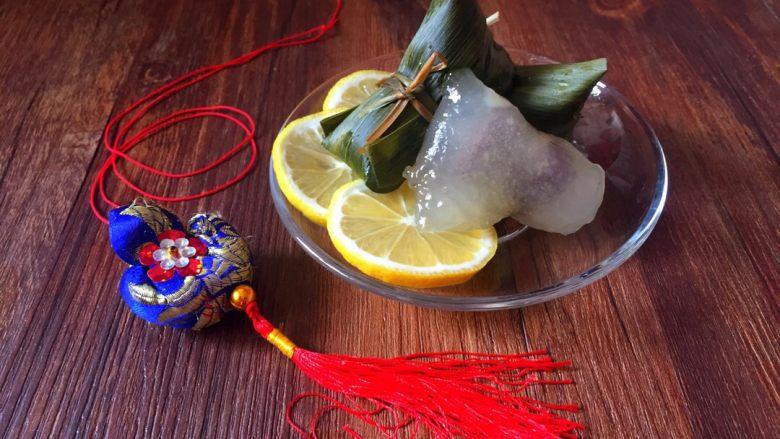 柠味水晶粽