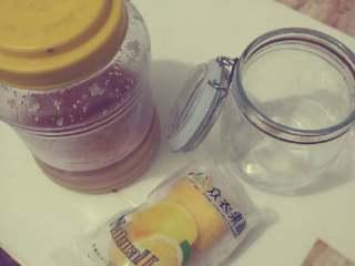 柠檬蜜,准备好材料