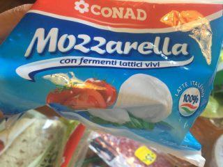 意大利卷饼,奶酪切片