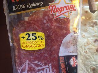 意大利卷饼,猪肉6片