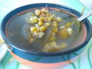 冰镇绿豆汤,你也来降降温吧!