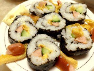 寿司🍣,完工!