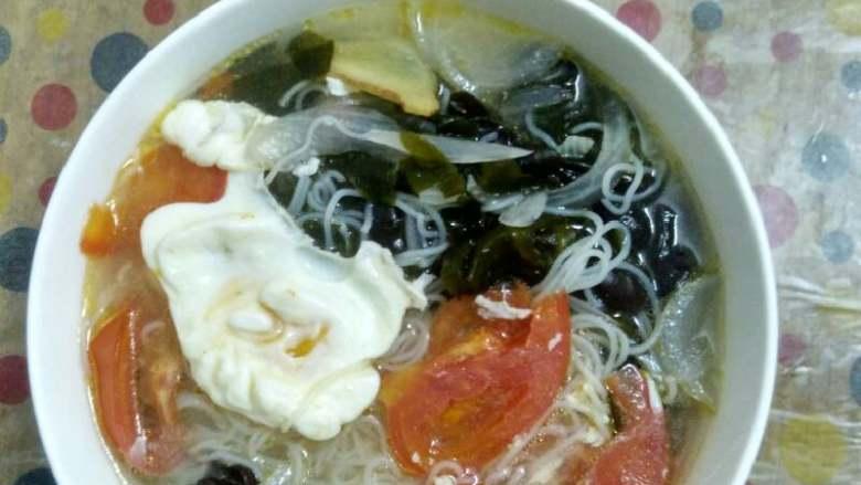 大杂菜汤粉