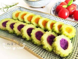 紫薯南瓜苦瓜圈