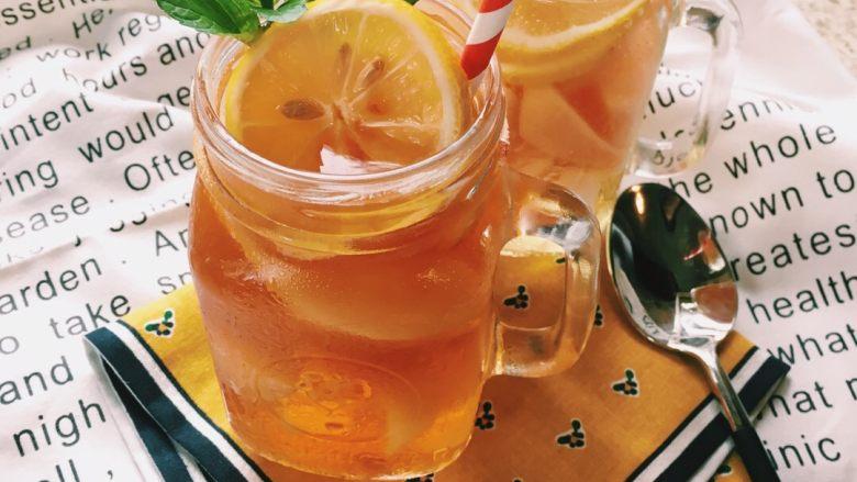 「蜜桃的夏天」——夏日制作桃子冰茶&蜜桃苏打柠檬水