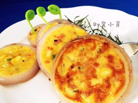 洋葱圈煎蛋饼-可以和宝贝抢着吃的美食