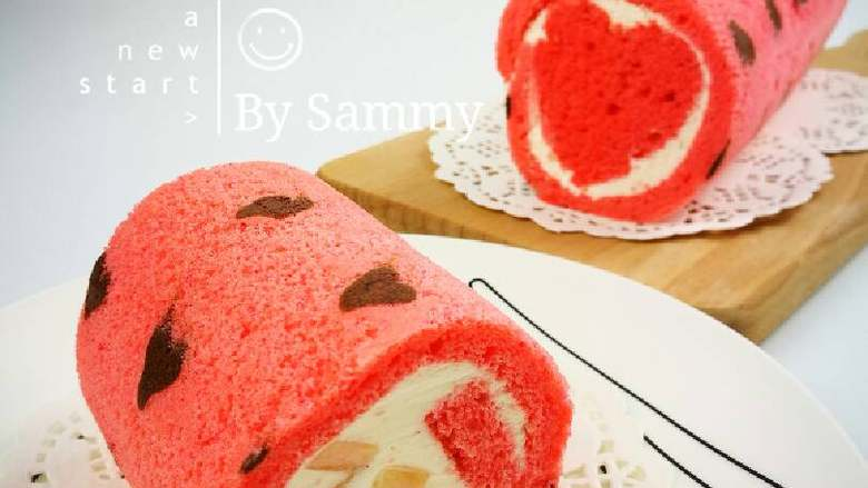 织女也疯狂 — 【爱心蛋糕卷】