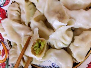 独家大头菜(圆白菜)猪肉馅饺子