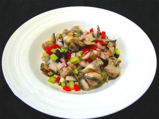 意式海螺沙拉,完成~