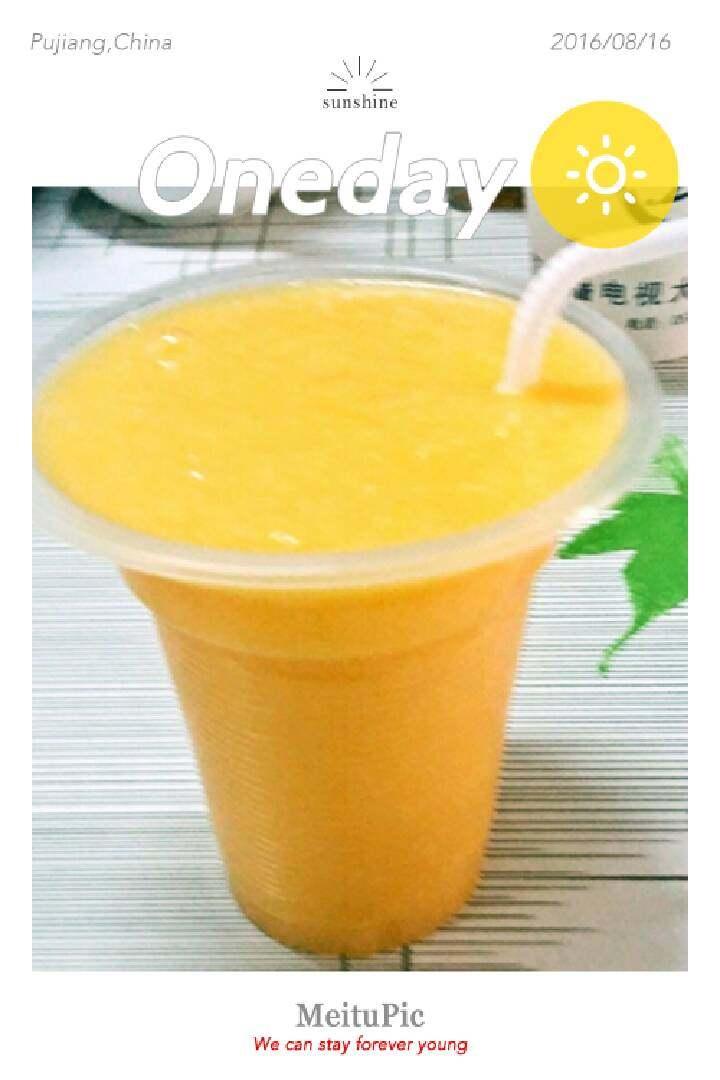 鲜姜橘子苹果汁