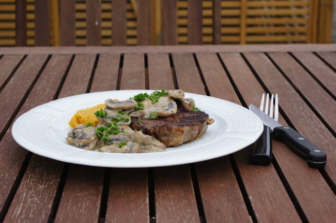 基础牛排——新西兰安格斯肉眼牛排