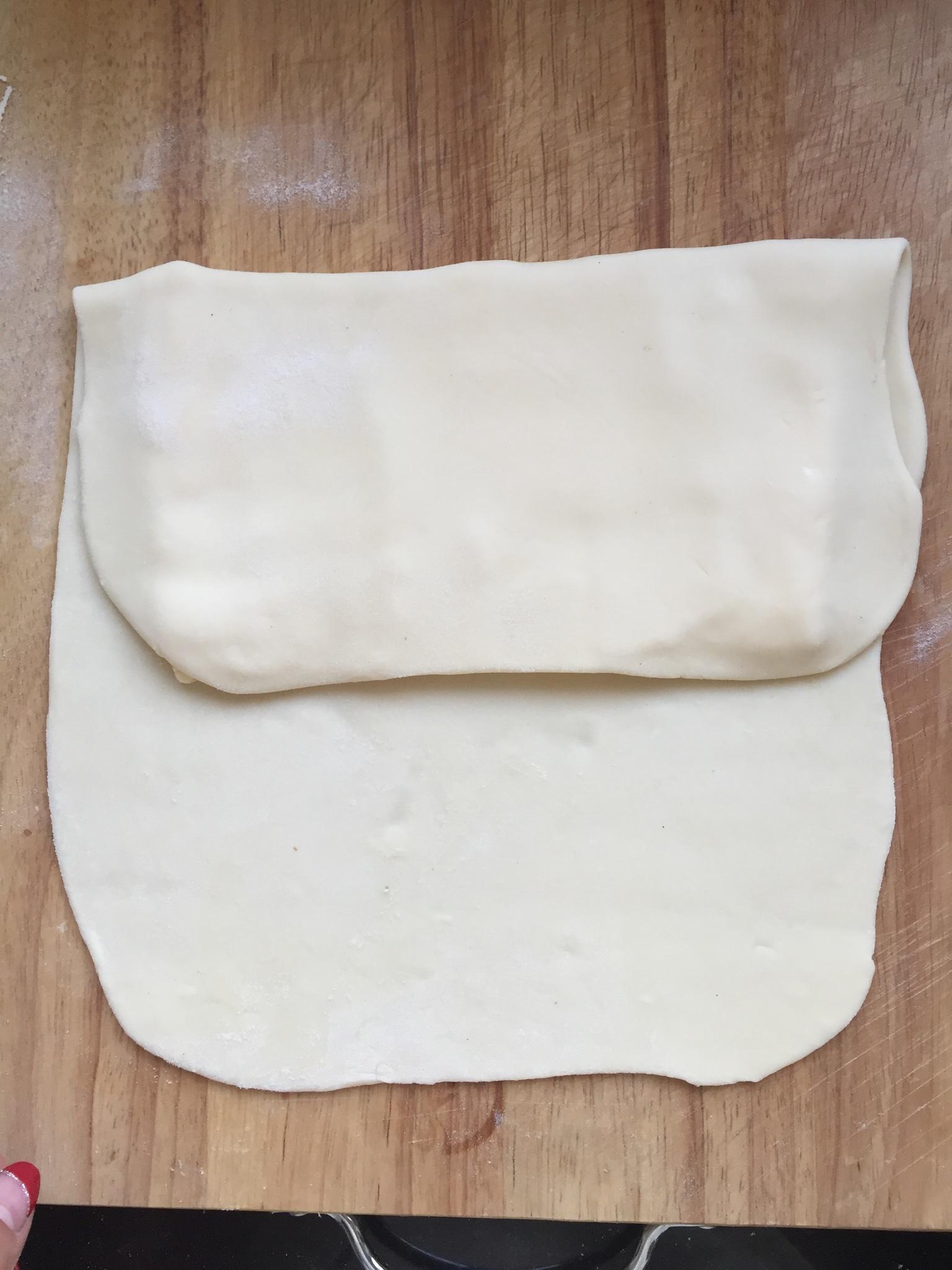 自制千层蛋挞皮的做法和步骤第5张图