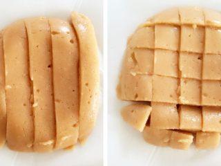 """米粉""""布丁""""—可以抓在手上吃的米糊7M ,切成长条或四方形,方便宝宝食用"""