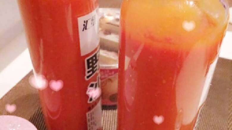 自制番茄沙司+#夏天的味道#