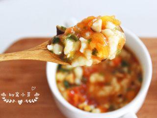 西红柿蘑菇疙瘩汤—酸甜开胃