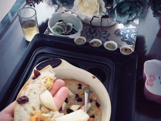 香蕉蛋糕(儿童下午茶),水果薄饼 超级好吃!南果梨 蔓越莓 胡萝卜 姑娘