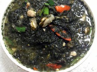 #年夜饭#海蛎紫菜煲