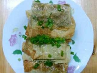 豆腐皮菜卷