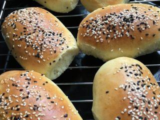 松软肉松面包卷,成品图,