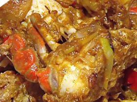 香辣咖喱蟹