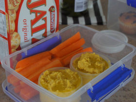 烤南瓜鹰嘴豆泥——和小伙伴们一起分享的健康零食蘸酱