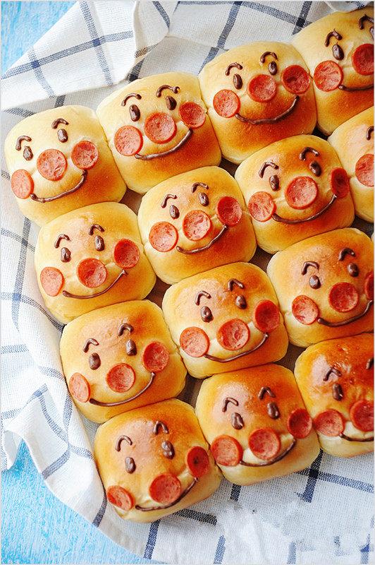 时下超级火爆的萌哒哒面包【面包超人挤挤面包】