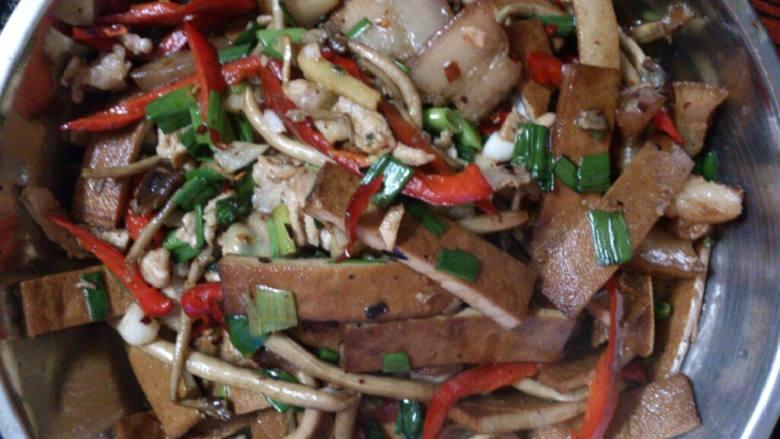 香干茶树菇