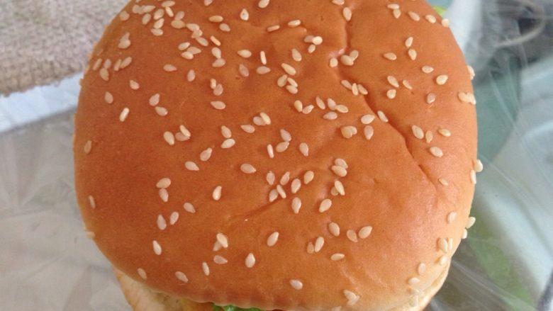 简易汉堡包