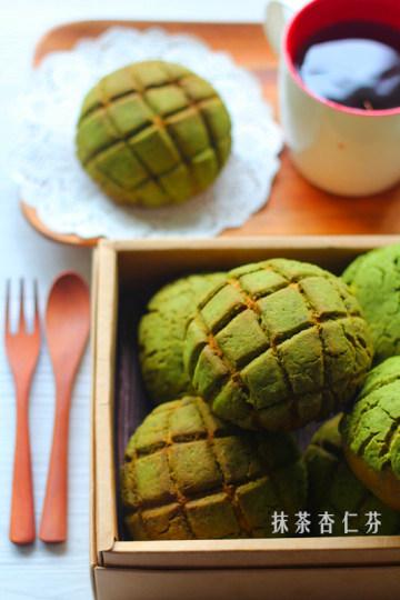 抹茶菠萝包~~菠萝包的华丽升级