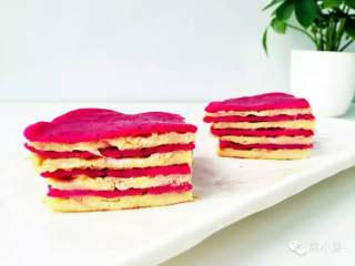 火龙果千层—火龙果的另一种吃法!10M+
