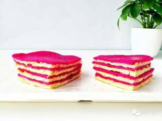 火龙果千层—火龙果的另一种吃法!10M+,美美的火龙果千层就做好啦