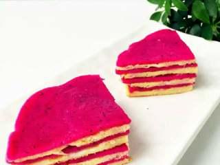 火龙果千层—火龙果的另一种吃法!10M+,赶紧享用吧