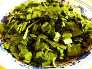韭菜虾仁猪肉饺,韭菜
