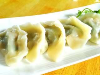 韭菜虾仁猪肉饺