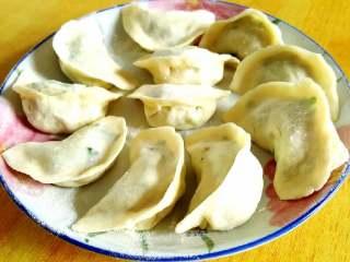 韭菜虾仁猪肉饺,包饺子