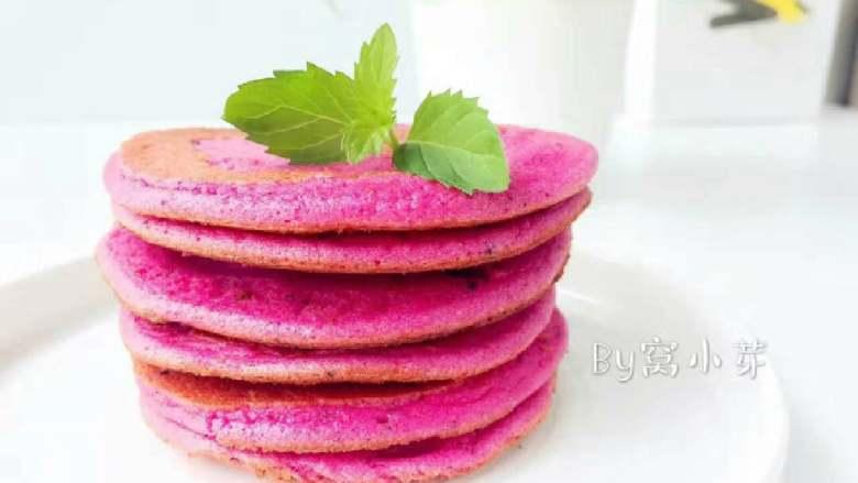 火龙果法式松饼—高营养价值,宝宝美味高颜值下午茶!10M+