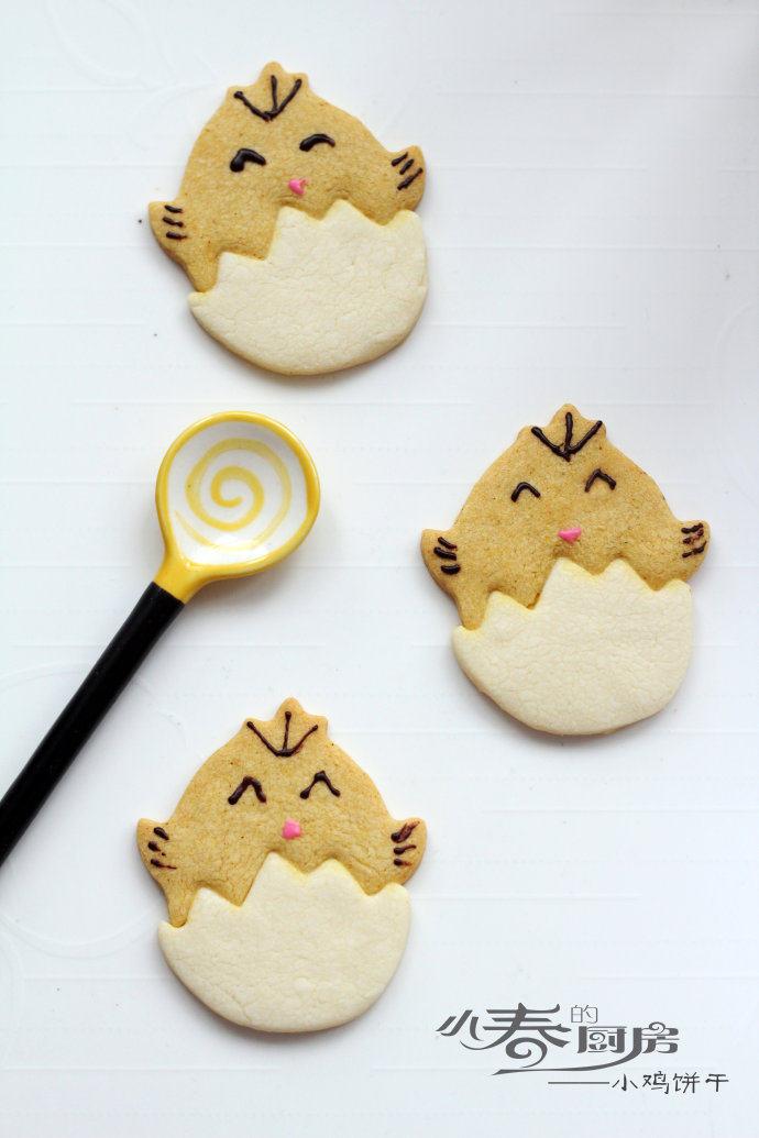 哄小朋友的最佳萌物——小鸡饼干