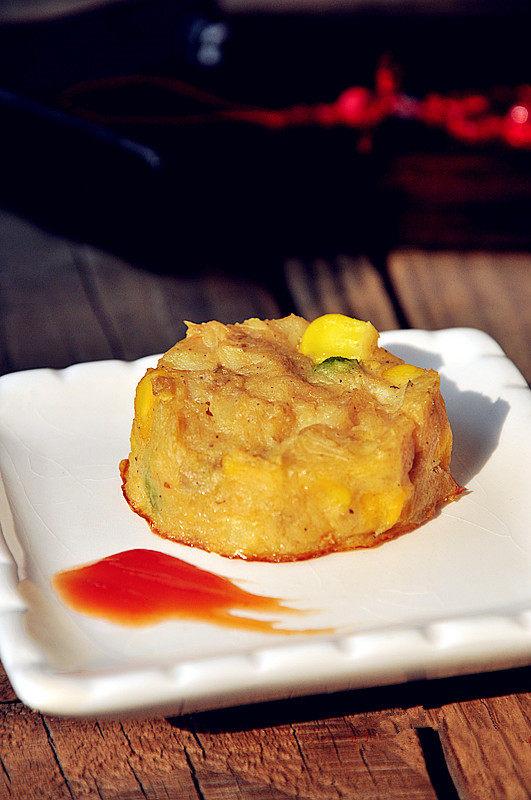 创意西餐:让小朋友喜爱的烤鳕鱼饼