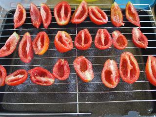 手工的有机美味封存——《日晒番茄 & 橄榄油浸日晒番茄》,每天阳光灿烂时放到户外做日光浴,下午4-5点左右将番茄搬回市内过夜。重复操作5-7天,直到番茄摸起来像皮革一样的质感。
