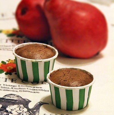 【红啤梨巧克力蛋糕】
