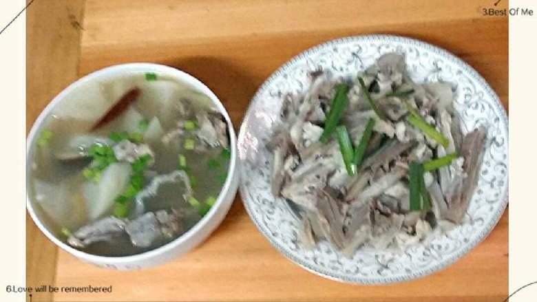 羊肉+羊骨头萝卜汤