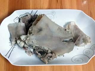 羊肉+羊骨头萝卜汤,老板帮忙剥好的肉
