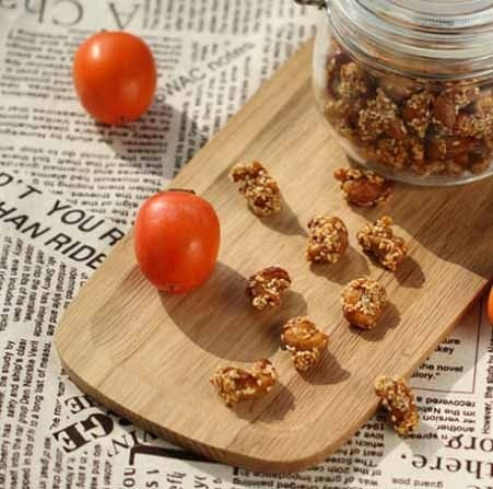 自制健康小零食--芝麻腰果