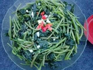 蔬菜皇后~~番薯叶,配白米饭