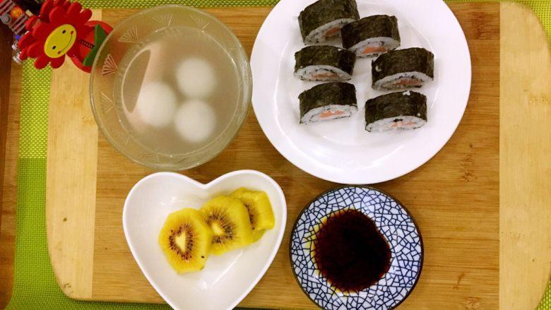 家庭版简单寿司