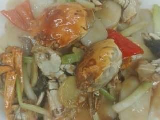 葱姜烧毛蟹