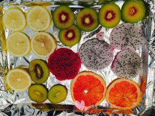 水果茶,水果切好后晾开