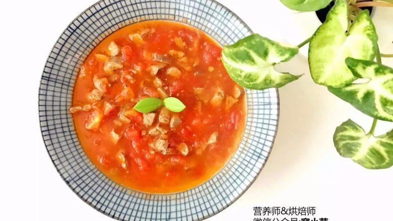宝宝辅食:番茄鸡肝/猪肝汤,出锅